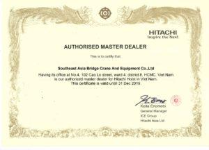 Chứng chỉ Hitachi Corp