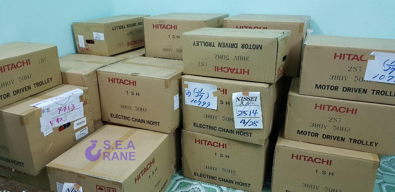 Hình ảnh Palang Hitachi và linh kiện chính hãng nhập khẩu